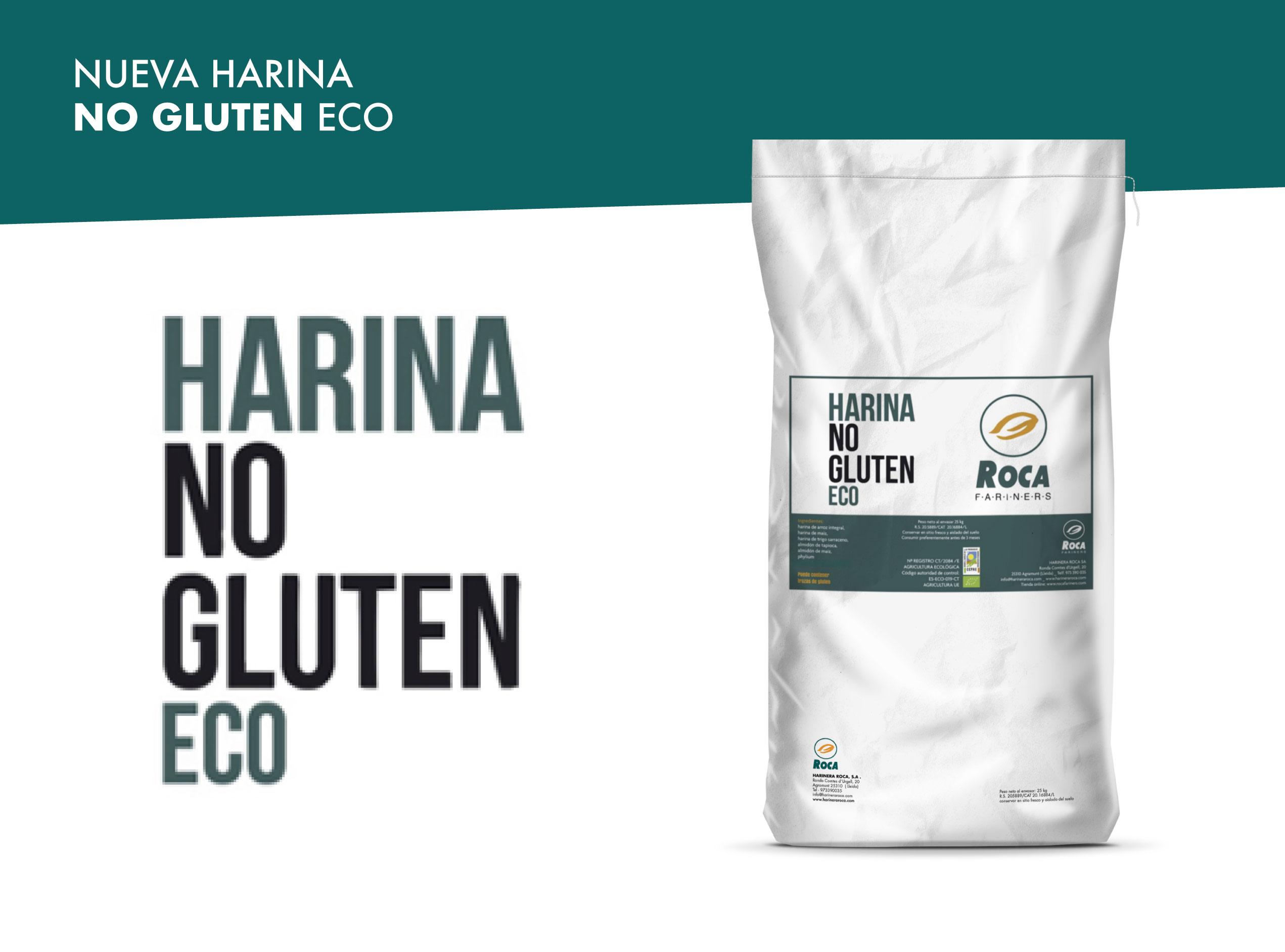 Nueva harina NoGluten eco