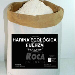 Harina de trigo fuerza magna ecológica