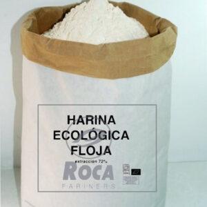 Harina de trigo ecológica floja
