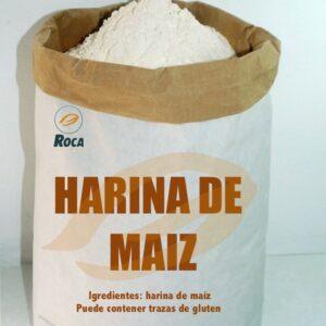 Harina de maíz ecológico