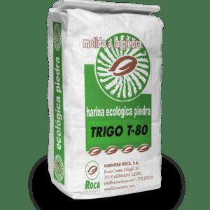 Farina de blat T-80 ecològica